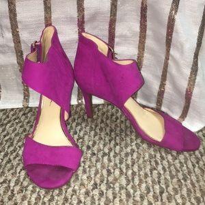 Jessica Simpson Magenta Heels